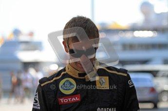 © Octane Photographic Ltd. 2011. European Formula1 GP, Saturday 25th June 2011. Formula 1 paddock. Vitaly Petrov - Lotus Renault GP Digital Ref:  0087LW7D6228