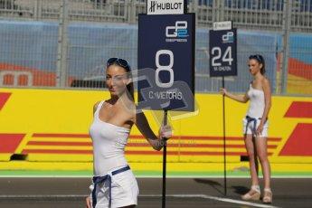 © Octane Photographic Ltd. 2011. European Formula1 GP, Sunday 26th June 2011. Christian Vietoris - Racing Engineering Grid Girl. GP2 Sunday race. Digital Ref:  0090CB1D8985