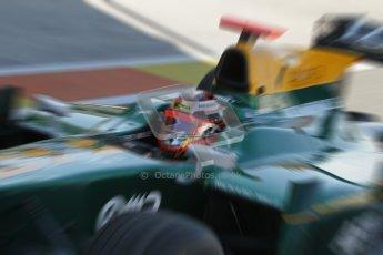 © Octane Photographic Ltd. 2011. European Formula1 GP, Sunday 26th June 2011. GP2 Sunday race. Jules Bianchi - Lotus ART. Digital Ref:  0090CB1D9006