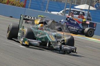 © Octane Photographic Ltd. 2011. European Formula1 GP, Sunday 26th June 2011. GP2 Sunday race. Esteban Gutiérrez - Lotus ART. Digital Ref:  0090CB1D9167