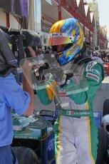 © Octane Photographic Ltd. 2011. European Formula1 GP, Sunday 26th June 2011. GP2 Sunday race. Esteban Gutiérrez - Lotus ART. Digital Ref: 0090CB1D9465