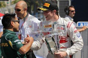 © Octane Photographic Ltd. 2011. European Formula1 GP, Sunday 26th June 2011. GP2 Sunday race. Luiz Razia - Caterham Team AirAsia. Digital Ref:  0090CB1D9653