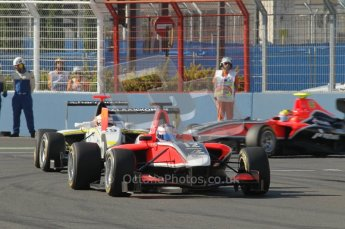 © Octane Photographic Ltd. 2011. European Formula1 GP, Sunday 26th June 2011. GP3 Sunday race. Matias Laine - Marussia Manor Racing. Digital Ref:  0091CB1D8616