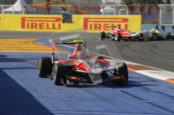 © Octane Photographic Ltd. 2011. European Formula1 GP, Sunday 26th June 2011. GP3 Sunday race. Rio Haryanto - Marussia Manor Racing. Digital Ref:  0091CB1D8