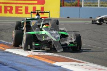 © Octane Photographic Ltd. 2011. European Formula1 GP, Sunday 26th June 2011. GP3 Sunday race. Alexander Sims - Status Grand Prix. Digital Ref:  0091CB1D8753