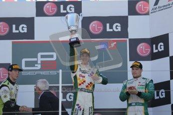 © Octane Photographic Ltd. 2011. European Formula1 GP, Sunday 26th June 2011. GP3 Sunday race. James Calado - Lotus ART. Digital Ref:  0091CB1D8903