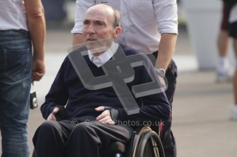 © Octane Photographic Ltd. 2011. Formula 1 World Championship – Italy – Monza – 11th September 2011. Race Day in the Paddock. Sir Frank Williams in the F1 paddock before race. Digital Ref : 0193LW7D6757