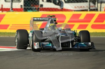 © Octane Photographic Ltd. 2011. Formula 1 World Championship – Italy – Monza – 9th September 2011 – Nico Rosberg - Mercedes MGP W02, Free practice 1 – Digital Ref : 0173CB1D1672