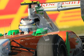 © Octane Photographic Ltd. 2011. Formula 1 World Championship – Italy – Monza – 9th September 2011 –  Nico Hulkenberg - Force India VJM04 - Free practice 1 – Digital Ref :  0173CB1D1753