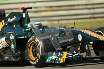 © Octane Photographic Ltd. 2011. Formula 1 World Championship – Italy – Monza – 9th September 2011 – Team Lotus TL128, Heikki Kovalainen - Free practice 1 – Digital Ref :  0173CB1D1778