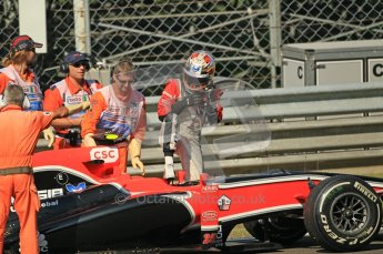 © Octane Photographic Ltd. 2011. Formula 1 World Championship – Italy – Monza – 9th September 2011 – Jerome d'Ambrosio - Virgin Marussia Racing VMR02, Free practice 1 – Digital Ref : 0173CB1D2097