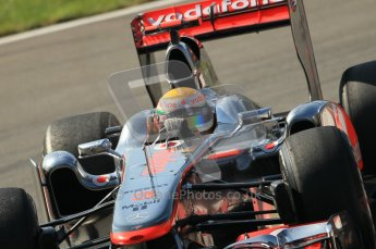 © Octane Photographic Ltd. 2011. Formula 1 World Championship – Italy – Monza – 9th September 2011 – Lewis Hamilton, Vodafone McLaren Mercedes MP4/26 - Free practice 1 – Digital Ref :  0173CB1D2134
