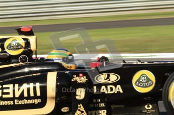 © Octane Photographic Ltd. 2011. Formula 1 World Championship – Italy – Monza – 9th September 2011 – Bruno Senna - Renault R31 - Free practice 1 – Digital Ref :  0173CB7D5804