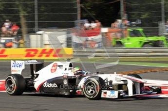 © Octane Photographic Ltd. 2011. Formula 1 World Championship – Italy – Monza – 9th September 2011 – Sergio Perez, Sauber C30 - Free practice 1 – Digital Ref :  0173CB7D5863