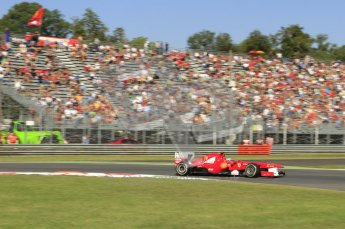 © Octane Photographic Ltd. 2011. Formula 1 World Championship – Italy – Monza – 9th September 2011 - Fernando Alonso - Ferrari F150, Free practice 1 – Digital Ref : 0173CB7D5936