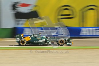 © Octane Photographic Ltd. 2011. Formula 1 World Championship – Italy – Monza – 9th September 2011, Team Lotus T128 - Heikki Kovalainen – Free practice 2 – Digital Ref : 0174CB1D2331
