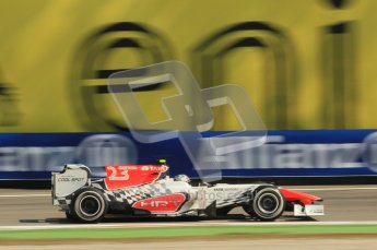 © Octane Photographic Ltd. 2011. Formula 1 World Championship – Italy – Monza – 9th September 2011, HRT F111 - Viantonio Liutzi – Free practice 2 – Digital Ref : 0174CB1D2352