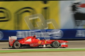 © Octane Photographic Ltd. 2011. Formula 1 World Championship – Italy – Monza – 9th September 2011, Ferrari F150 - Fernando Alonso – Free practice 2 – Digital Ref : 0174CB1D2367