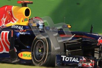 © Octane Photographic Ltd. 2011. Formula 1 World Championship – Italy – Monza – 9th September 2011, Red Bull RB7 - Sebastian Vettel – Free practice 2 – Digital Ref : 0174CB7D6595