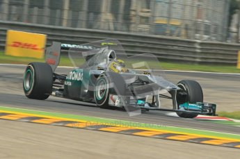 © Octane Photographic Ltd. 2011. Formula 1 World Championship – Italy – Monza – 10th September 2011, Nico Rosberg - Mercedes GP MGP W02 – Free practice 3 – Digital Ref :  0175CB1D2478