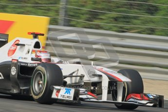 © Octane Photographic Ltd. 2011. Formula 1 World Championship – Italy – Monza – 10th September 2011, Kamui Kobayashi, Sauber C30 – Free practice 3 – Digital Ref :  0175CB1D2521
