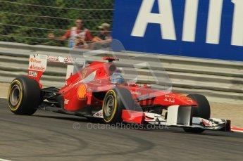© Octane Photographic Ltd. 2011. Formula 1 World Championship – Italy – Monza – 10th September 2011, Fernando Alonso, Ferrari F150 – Free practice 3 – Digital Ref :  0175CB1D2989