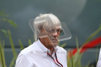 © Octane Photographic Ltd. 2011. Formula 1 World Championship – Italy – Monza – 10th September 2011 - Bernie Ecclestone – Free practice 3 – Digital Ref : 0175CB7D6667