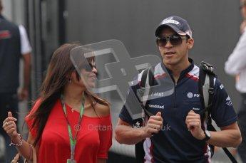 © Octane Photographic Ltd. 2011. Formula 1 World Championship – Italy – Monza – 10th September 2011 - Pastor Maldonado, Williams – Free practice 3 – Digital Ref :  0175LW7D5793