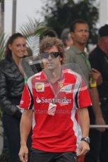 © Octane Photographic Ltd. 2011. Formula 1 World Championship – Italy – Monza – 10th September 2011, Fernando Alonso, Ferrari – Free practice 3 – Digital Ref :  0175LW7D6009