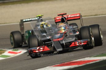 © Octane Photographic Ltd. 2011. Formula 1 World Championship – Italy – Monza – 10th September 2011 – Qualifying – Digital Ref :  0176CB7D7091