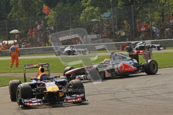 © Octane Photographic Ltd. 2011. Formula 1 World Championship – Italy – Monza – 11th September 2011 – Race – Digital Ref :  0177CB7D7928