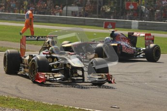 © Octane Photographic Ltd. 2011. Formula 1 World Championship – Italy – Monza – 11th September 2011 – Race – Digital Ref :  0177CB7D7943