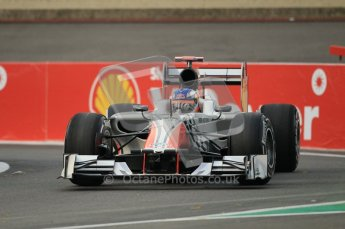 © Octane Photographic Ltd. 2011. Formula One Belgian GP – Spa – Friday 26th August 2011 – Free Practice 1, Daniel Ricciardo - HRT F111. Digital Reference : 0163CB1D6934