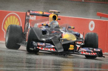 © Octane Photographic Ltd. 2011. Formula One Belgian GP – Spa – Friday 26th August 2011 – Free Practice 1, Sebastian Vettel - Red Bull RB7. Digital Reference : 0163CB1D7042