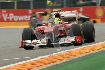 © Octane Photographic Ltd. 2011. Formula One Belgian GP – Spa – Friday 26th August 2011 – Free Practice 1, Felipe Massa - Ferrari F150. Digital Reference : 0163CB1D7327