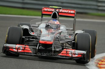 © Octane Photographic Ltd. 2011. Formula One Belgian GP – Spa – Friday 26th August 2011 – Free Practice 2. Digital Reference : 0164CB1D8009