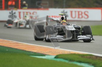 © Octane Photographic Ltd. 2011. Formula One Belgian GP – Spa – Saturday 27th August 2011 – Qualifying. Digital Reference : 0166CB1D1278