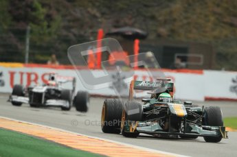 © Octane Photographic Ltd. 2011. Formula One Belgian GP – Spa – Saturday 27th August 2011 – Qualifying. Digital Reference : 0166CB1D1317
