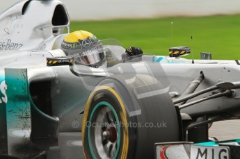© Octane Photographic Ltd. 2011. Formula One Belgian GP – Spa – Sunday 28th August 2011 – Race. Nico Rosberg, Mercedes Gp MGP W02. Digital Reference : 0168lw7d9923