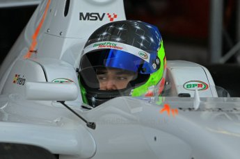 © Octane Photographic 2011. FIA F2 - 16th April 2011 - Qualifying. Ramon Pineiro. Silverstone, UK. Digital Ref. CB1D0040