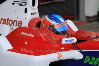 © Octane Photographic 2011. FIA F2 - 16th April 2011 - Qualifying. Armaan Ebrahim. Silverstone, UK. Digital Ref. 0050CB7D0001