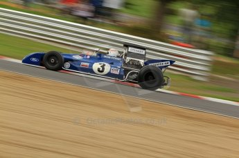 World © Octane Photographic. FIA Historic Formula 1 Championship – Round 5 – Brands Hatch, Sunday 3rd July 2011, F1, John Delane. Ex-Jackie Stewart Tyrrell 002. Digital Ref : 0105CB7D8256