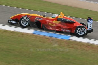 © Octane Photographic 2011 – British Formula 3 - Donington Park. 24th September 2011, Hywel Lloyd - Sino Vision Racing - Dallara F308 Mercedes HWA. Digital Ref : 0182lw1d5405