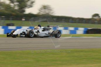 © Octane Photographic 2011 – British Formula 3 - Donington Park. 24th September 2011, Max Snegeriv - Hitech Racing - Dallara F308 Volkswagen. Digital Ref : 0182lw7d7576