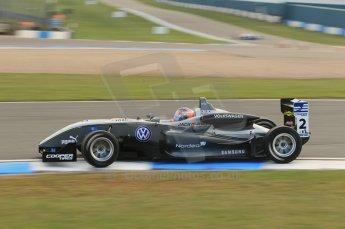 © Octane Photographic 2011 – British Formula 3 - Donington Park. 24th September 2011, Kevin Magnussen - Carlin - Dallara F308 Volkswagen. Digital Ref : 0182lw1d5534