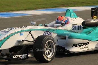 © Octane Photographic 2011 – British Formula 3 - Donington Park. 24th September 2011, Jazeman Jaafar - Carlin - Dallara F308 Volkswagen. Digital Ref : 0182lw1d5591