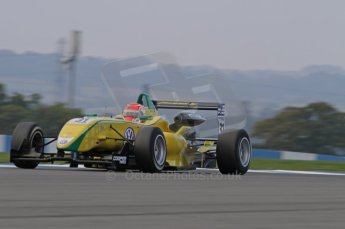 © Octane Photographic 2011 – British Formula 3 - Donington Park. 24th September 2011, Felipe Nasr - Carlin - Dallara F308 Volkswagen. Digital Ref :