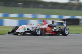 © Octane Photographic 2011 – British Formula 3 - Donington Park. 24th September 2011, Lucas Foresti - Fortec Motorsport - Dallara F311 Mercedes HWA. Digital Ref : 0182lw7d7634
