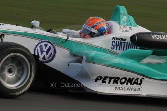 © Octane Photographic 2011 – British Formula 3 - Donington Park. 24th September 2011, Jazeman Jaafar - Carlin - Dallara F308 Volkswagen. Digital Ref : 0182lw7d7816