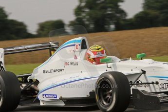 © Octane Photographic Ltd. 2011. Formula Renault 2.0 UK – Snetterton 300, Dan Wells - Atech Reid GP. Saturday 6th August 2011. Digital Ref : 0122LW7D0403